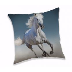 White horse poduszka