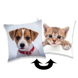 Dog / cat poduszka a cekinami
