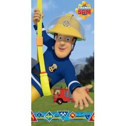 Fireman Sam Blue ręcznik plażowy