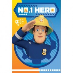 Fireman Sam Hero koc fleece