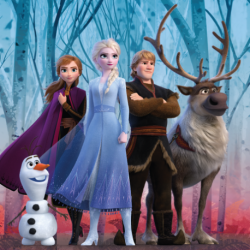 Frozen 2 In Forest poduszka cover