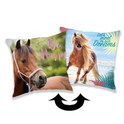 Horse Heart poduszka a cekinami