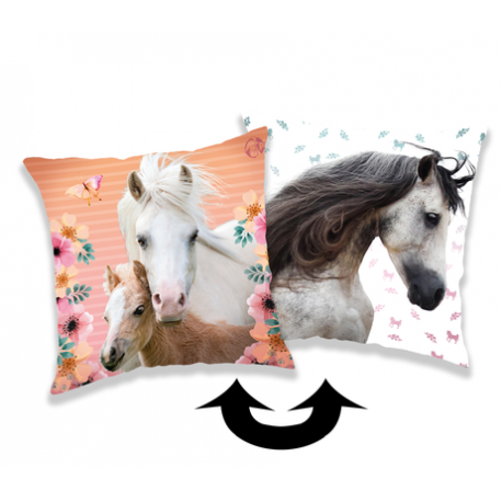 Horse Square poduszka a cekinami