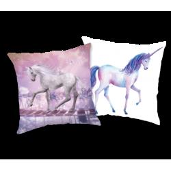 Unicorn 01 poduszka a cekinami