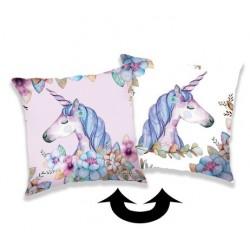 Unicorn 04 poduszka a cekinami