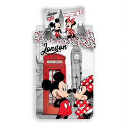 Mickey and Minnie in London Telephone (poduszka 60 x 80 cm)