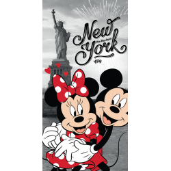 Mickey and Minnie in New York ręcznik plażowy