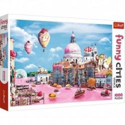 Puzzle 1000 elementów Slodycze w Wenecji