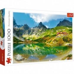 Puzzle 1000 elementów Schronisko nad Zielonym Stawem Tatry
