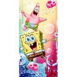 Sponge bob 012 ręcznik plażowy