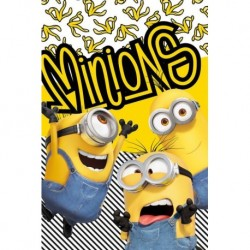 Minions 2 Banana koc fleece