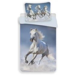 Horses White