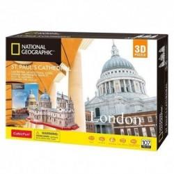 Puzzle 3D Katedra św. Pawła National Geographic
