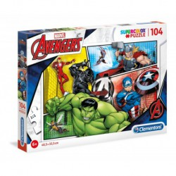 Puzzle 104 elementy The Avengers