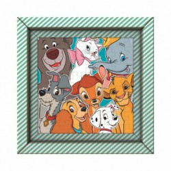 Puzzle 60 elementów Frame Me Up - Disney Animals