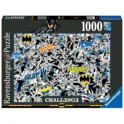 Puzzle 1000 elementów Challange, Batman