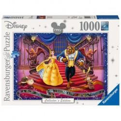 Puzzle 1000 elementów Walt Disney Piękna i Bestia