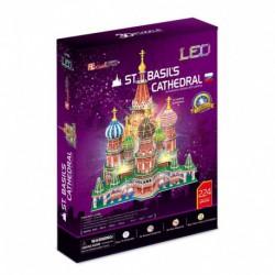 Puzzle 3D LED Katedra Św. Bazylego