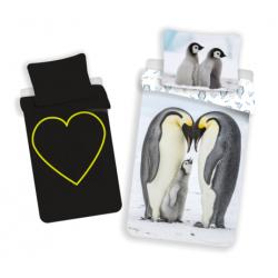 Penguins z efektem świecenia