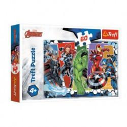Puzzle 60 elementów Niezwyciężeni Avengers