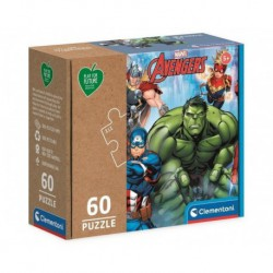 Puzzle 60 elementów Play For Future - Avengers