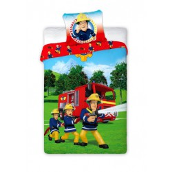Pościel Fireman Sam 027 140/200+70/90